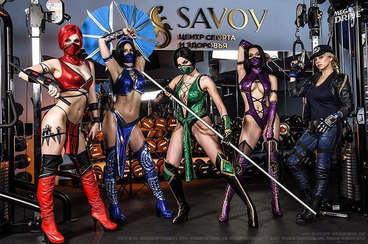 mortal kombat cosplay ideas for Halloween
